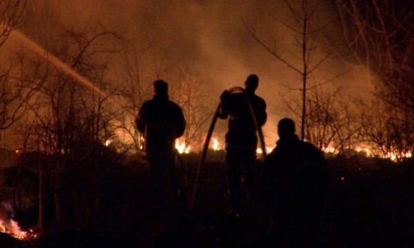 """Пожар горя в кв. """"Витоша"""" в столицата"""