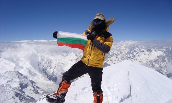 """И """"Мъж на годината 2016-а"""" е... алпинистът Боян Петров"""