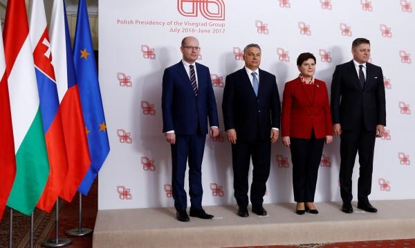 Полша, Словакия, Унгария и Чехия с план за по-силен ЕС