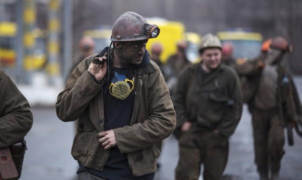 Единадесет миньори загинаха при взрив на метан в мина в Украйна