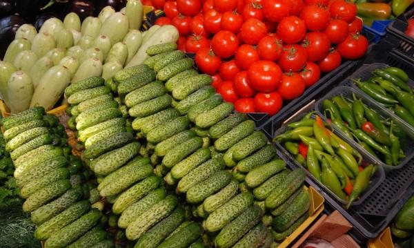 Цените на зеленчуците - надолу през изминалата седмица