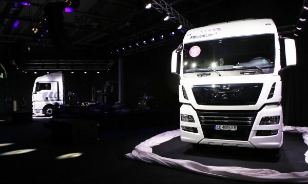 Над 850 товарни автомобила продадени от вносителя на MAN в България