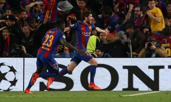 Барса не е първият отбор, който заличава 4 гола в Европа