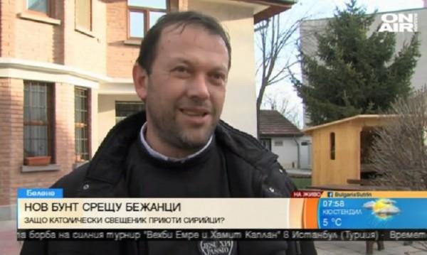Отец Кортези след напрежението в Белене: Чао, България!