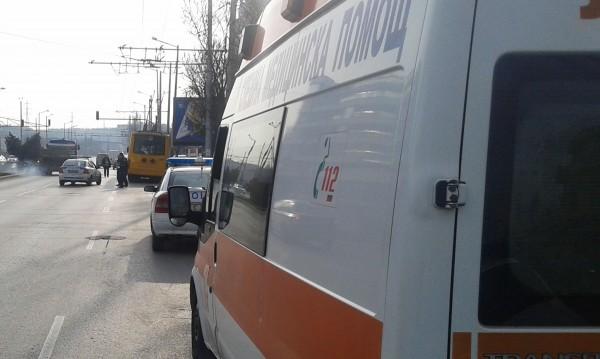 """Две жени пострадаха след катастрофа в """"Люлин"""""""