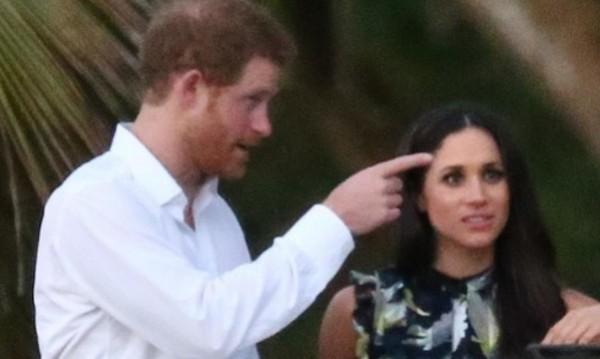 Романтика: Принц Хари вкара Меган в пещера