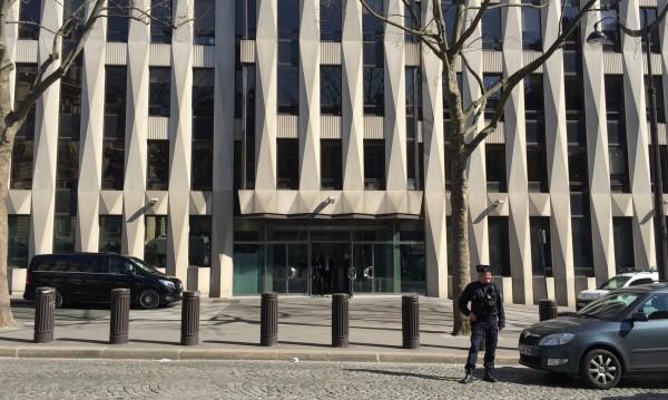 Гръцки адрес на плика, взривил се в офис на МВФ в Париж