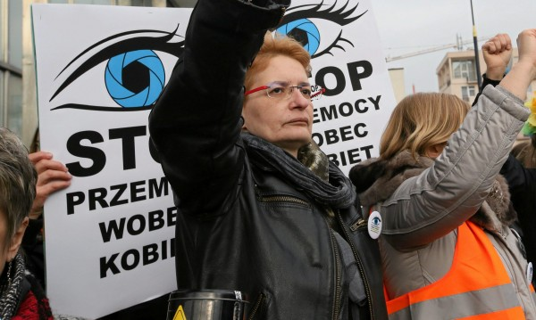 Протест в Полша: Срещу рязането на права на кметове и съдии