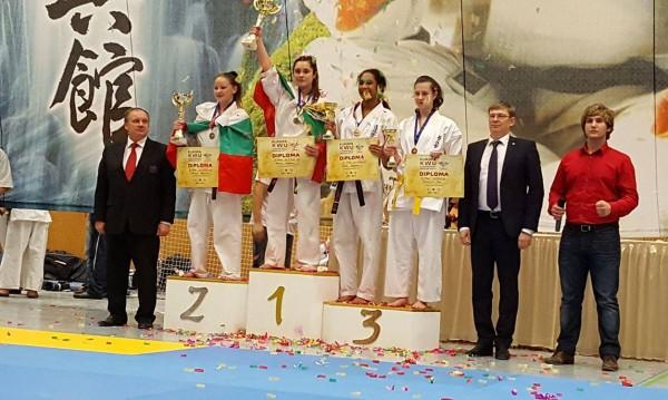 Каратеките ни с 5 златни медала на европейското по киокушин