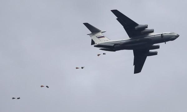 2500 руски военни при десант в Крим в рамките на маневри