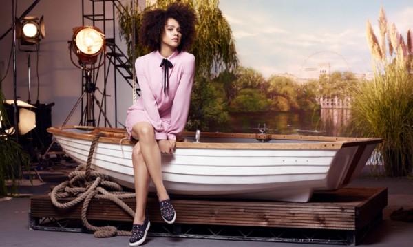 Актриса от Игра на тронове се изявява като модел