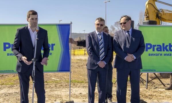 """""""Практикер"""" започва изграждането на хипермаркет в Шумен"""