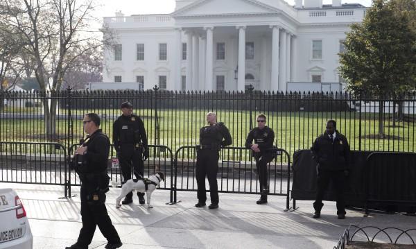 Жена пробва да прескочи оградата на Белия дом, арестуваха я