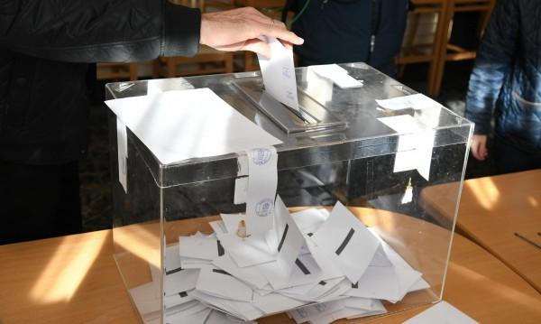 12 294 секции са на разположение на избирателите