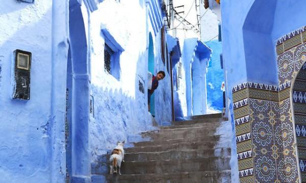 Шефшауен – синият град в Мароко