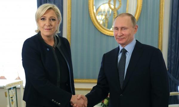 """Льо Пен: Путин е """"нова визия"""" на един """"многополюсен свят"""""""