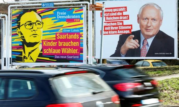 Избори  в провинция Саар, смятани за тест за Меркел и Шулц