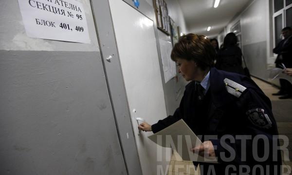 МВР: Изборният ден започна в спокойна обстановка