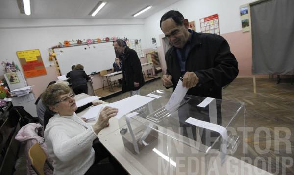 Избирателната активност към 10 часа – 8,44%