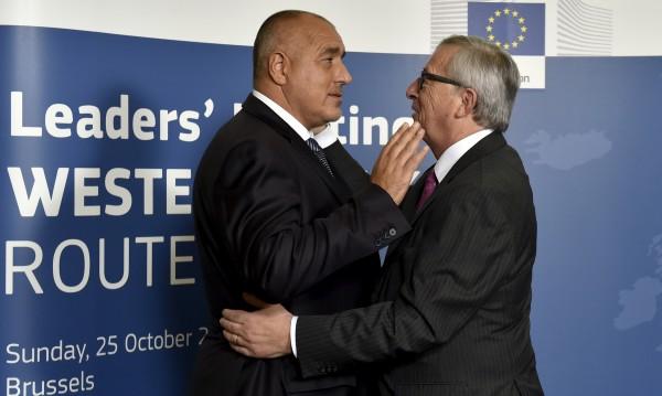 Юнкер поздрави Борисов за изборната победа