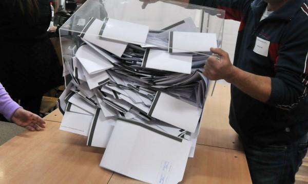 На 100% от ЦИК: ГЕРБ побеждават БСП с 5,45% от гласовете