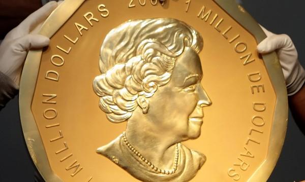 Златен удар: Откраднаха монета за $1 милион!
