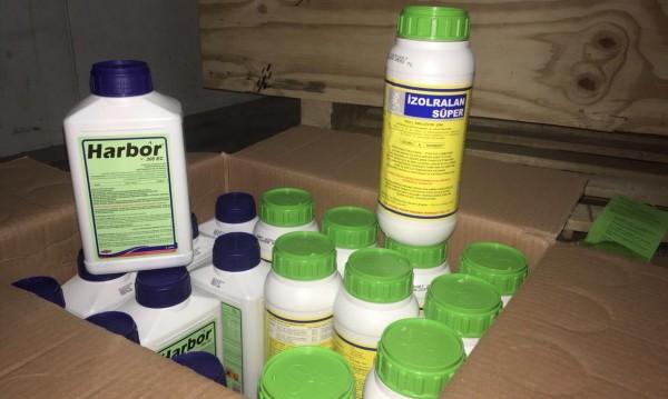 Задържаха нелегални препарати за растителна защита на Лесово