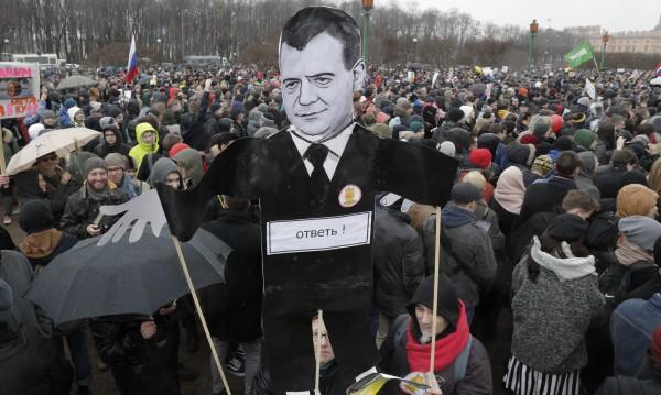 Протестите на опозицията – предизвикателство за Путин