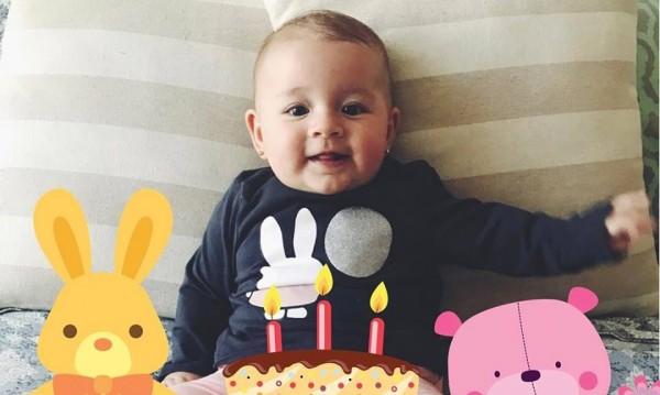 Дъщерята на Мика Стоичкова стана на 6 месеца