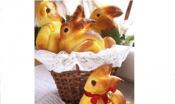 Рецептата Dnes: Сладки козуначени зайчета