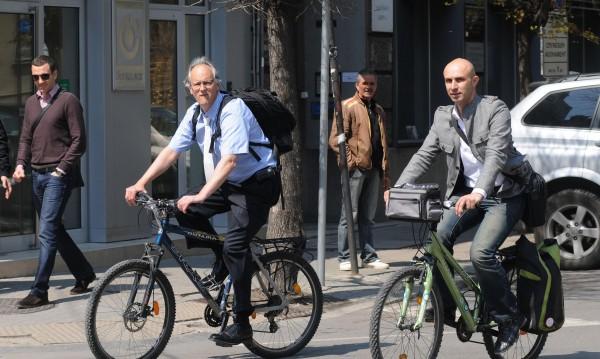 Радост за колоездачите: Велоалея по Патриарха до НДК