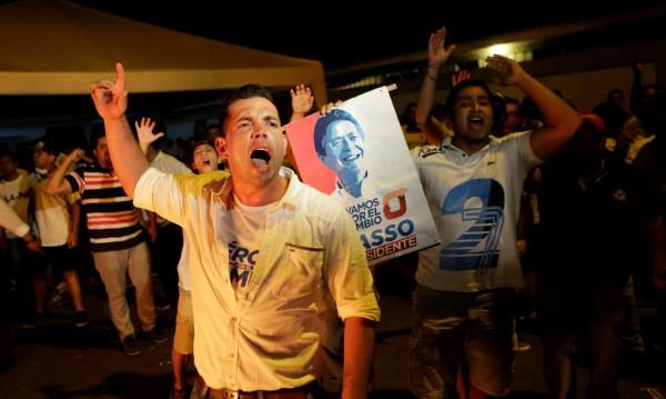 Протести в Еквадор заради резултатите от президентските избори