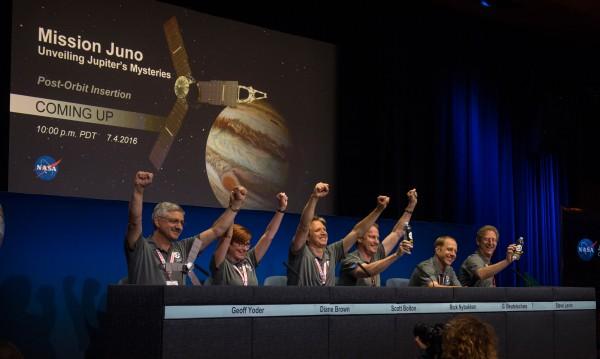 """Сондата """"Джуно"""" се доближи успешно до Юпитер за пети път"""
