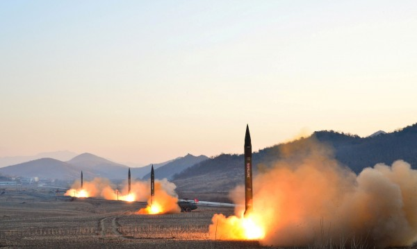 Северна Корея изстреля балистична ракета към Японско море