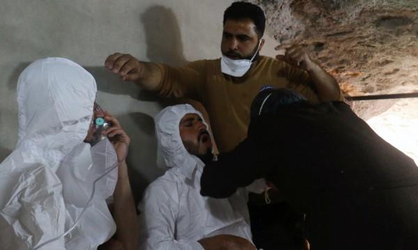 72 са жертвите на химическата атака в Сирия