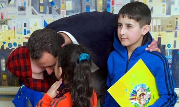 Най-лошият баща: Дали Асад се срамува, когато гушка децата си?