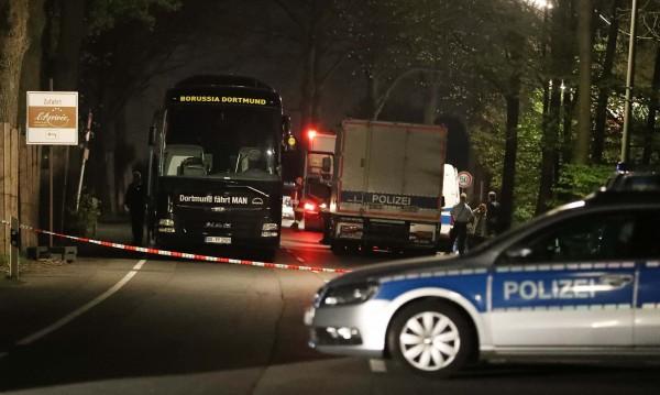 Взривовете в Дортмунд били за автобуса на Борусия