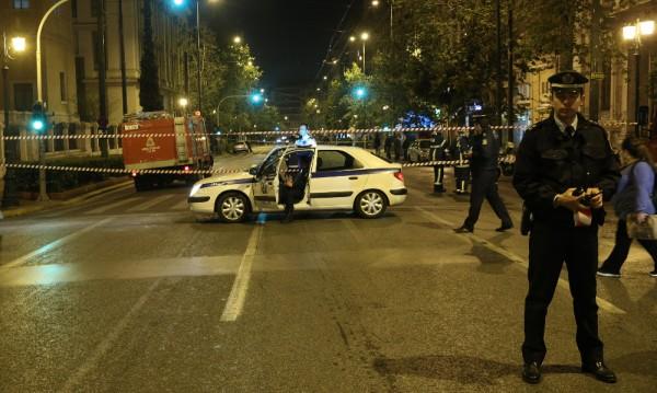 Взрив в банка в Атина, няма пострадали