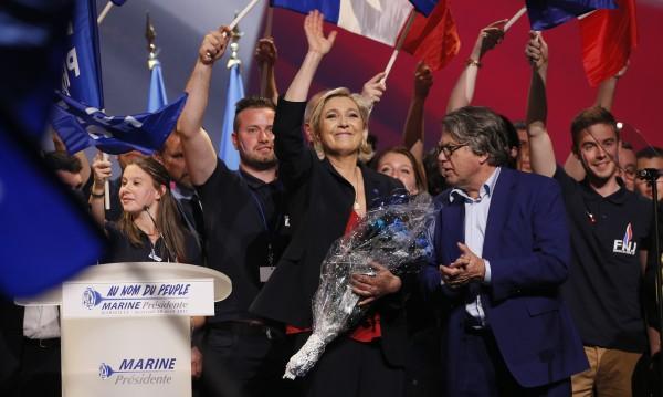 Льо Пен с десен завой в края на предизборната кампания