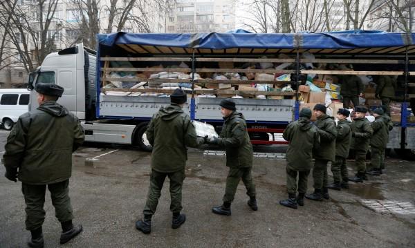 Литовци помагат на украински войници в Източна Украйна