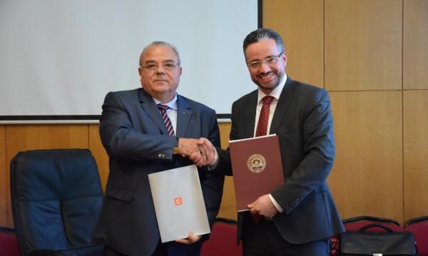 ЧЕЗ и УНСС ще си сътрудничат за подготовка на кадри за енергийния сектор