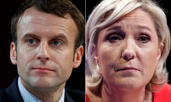 0,5% делят Макрон и Льо Пен след първия тур на вота