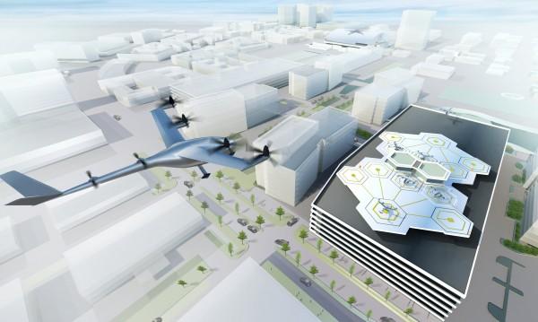 2020-а чука... идват летящите таксита на Uber