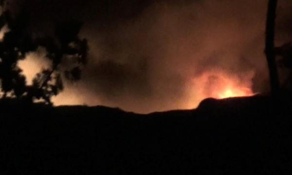 Въздушен удар порази складове край летището в Дамаск