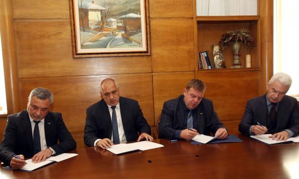 Споразумението: Министерствата – ясни, чакат се министрите