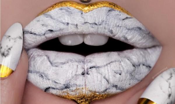 Мрамор по устните - новият моден тийн хит