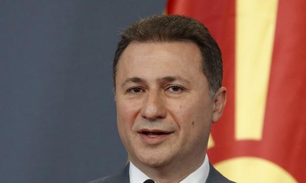 Никола Груевски с призив за успокояване на страстите