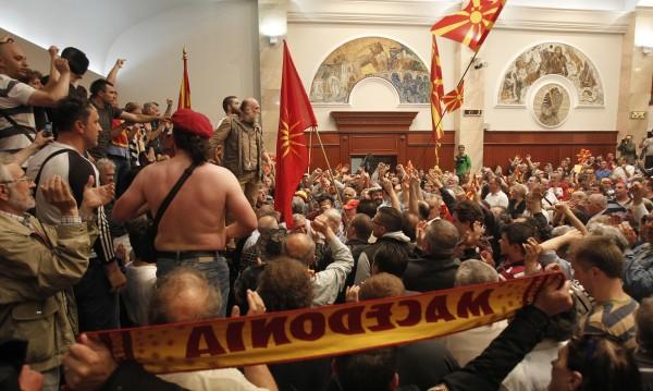 Македония обедини българските депутати: Не на насилието!