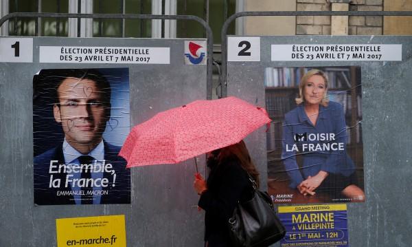 Проучване: Льо Пен набира позиции, но Макрон печели