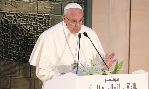 Папата зове: Обединение срещу религиозния екстремизъм!